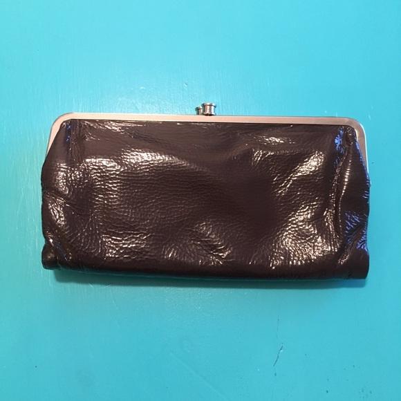 hobo lauren leather double frame clutchwallet - Double Frame Clutch Wallet